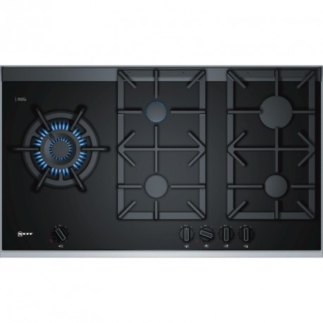 NEFF - TABLE VITRO 4GAZ+WOK FLAMESELECT 90 NOIR