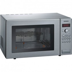 SIEMENS - MICRO-ONDES+GRIL POSABLE 25L SILVER